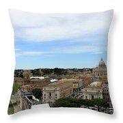 Vatican General View Throw Pillow