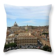 Vatican In Spring Throw Pillow