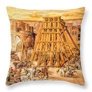 Vatican Obelisk Throw Pillow