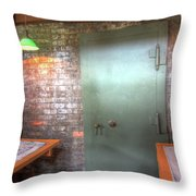 Vault At Frank Lloyd Wright Home And Studio In Oak Park, Il Throw Pillow