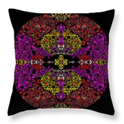 Vault Of The Holy Dynamo Throw Pillow
