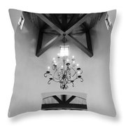 Vaulted Ceiling Throw Pillow