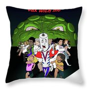 Vaxwithme Throw Pillow
