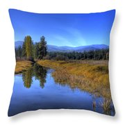 Vay Road Ditch 5 Throw Pillow