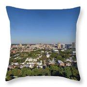 Vcu-richmond-oregon Hill Throw Pillow