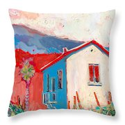 Vecchio Casa Throw Pillow