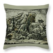 Vedauwoo Throw Pillow