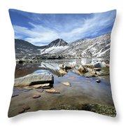 Vee Lake - Sierra Throw Pillow