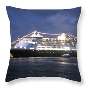 Veendam In Bermuda Throw Pillow