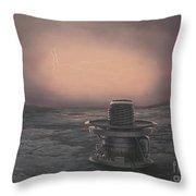 Vega 2 Lander On Venus Throw Pillow