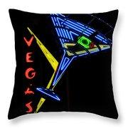 Vegas Throw Pillow