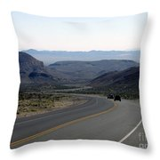 Vegas Bound Throw Pillow