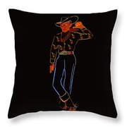 Vegas Vick Throw Pillow