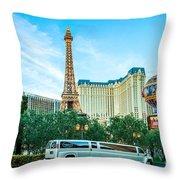 Vegas Vip Throw Pillow