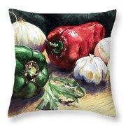 Vegetable Golly Wow Throw Pillow