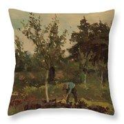 Vegetable, Willem Witsen, 1885 - 1922 Throw Pillow