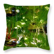 Vegetables Plant For Urban Life 1 Throw Pillow