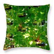 Vegetables Plant For Urban Life 2 Throw Pillow