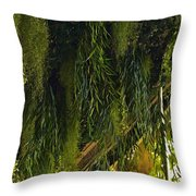 Vegetal Roof Throw Pillow