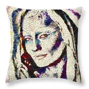 Vegged Out She Throw Pillow