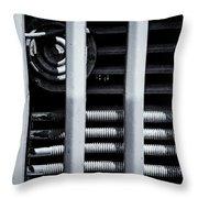 Vehicle Radiator Abstract II Throw Pillow