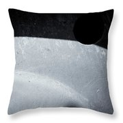Vehicle Wheel Of Certainty Throw Pillow