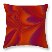 Veil Dance Throw Pillow