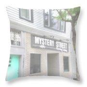 Veiled Mystery Mystery Street  Throw Pillow