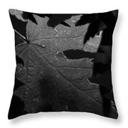 Veins Of A Maple Throw Pillow