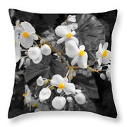 Veins Of Gold Throw Pillow