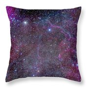 Vela Supernova Remnant In The Center Throw Pillow