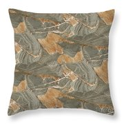 Vellin-gluz Rocks 18 Throw Pillow