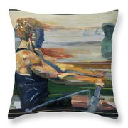 Velocity Throw Pillow