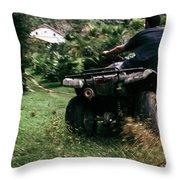 Velocity Vector. Throw Pillow