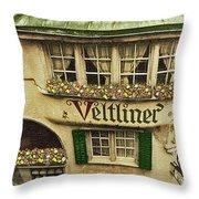 Veltliner Keller Throw Pillow