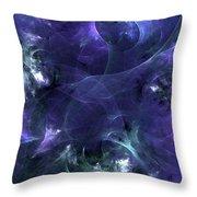 Velvet Encounter Throw Pillow