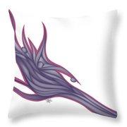 Velvetwave Throw Pillow
