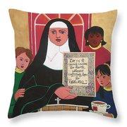 Ven. Catherine Mcauley - Mmvcm Throw Pillow