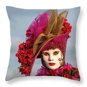 Dressed Up, Venice  Throw Pillow