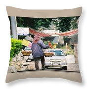 Vendor Throw Pillow