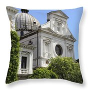 Venetian Church Throw Pillow