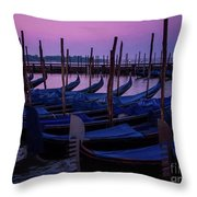 Venetian Dawn Throw Pillow