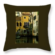 Venetian Gold Throw Pillow