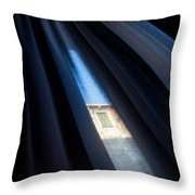 Venetian Square Throw Pillow by Dave Bowman