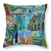 Venezia 1 Throw Pillow
