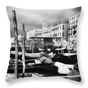 Venezia 5 Throw Pillow
