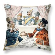 Venezuela Boundary, 1896 Throw Pillow