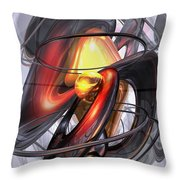 Vengeance Abstract Throw Pillow
