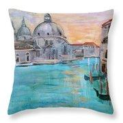 Venice 1 Throw Pillow