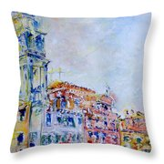 Venice 6-29-15 Throw Pillow